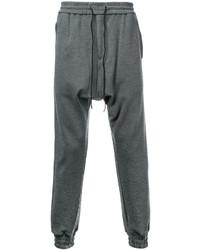 Pantalón de chándal de lana en gris oscuro de Juun.J