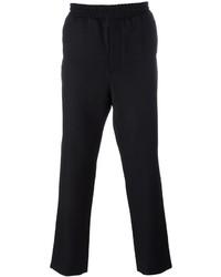 Pantalón de chándal de lana negro de AMI Alexandre Mattiussi