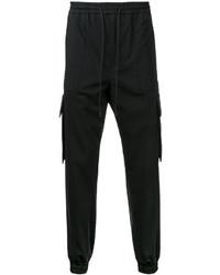 Pantalón de chándal de lana negro de Juun.J