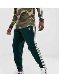 Pantalón de chándal estampado verde oscuro