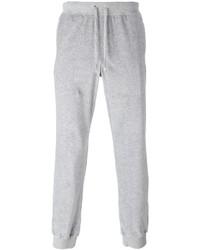 Pantalón de chándal gris de Versace