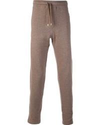 Pantalón de chándal marrón