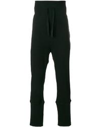 Pantalón de chándal negro de Ann Demeulemeester