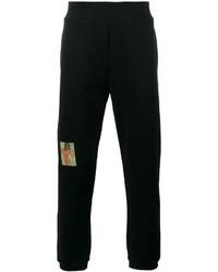 Pantalón de chándal negro de Christopher Kane