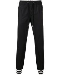 Pantalón de chándal negro de Dolce & Gabbana
