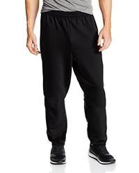 Pantalón de chándal negro de Hanes