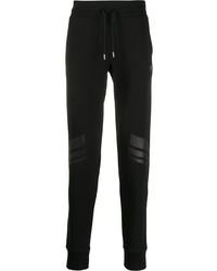 Pantalón de chándal negro de Plein Sport