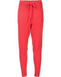 Pantalón de Chándal Rojo de Baja East