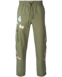 Pantalón de chándal verde oliva de Valentino
