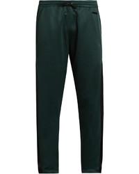 Pantalón de chándal verde oscuro