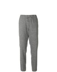 Pantalón de pinzas a cuadros gris de Fabiana Filippi