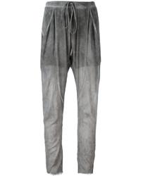 Pantalón de pinzas gris