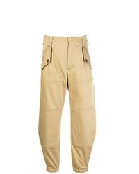 Pantalón de pinzas marrón claro de Chloé