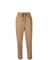 Pantalón de pinzas marrón claro de Semicouture