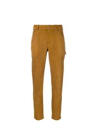 Pantalón de Pinzas Mostaza de Saint Laurent