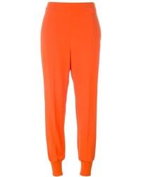 Pantalón de pinzas naranja