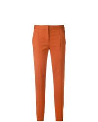 Pantalón de Pinzas Naranja de Tory Burch