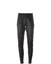 Pantalón de pinzas negro de A.F.Vandevorst