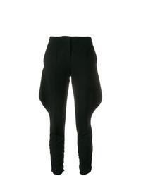 Pantalón de pinzas negro de Giorgio Armani Vintage