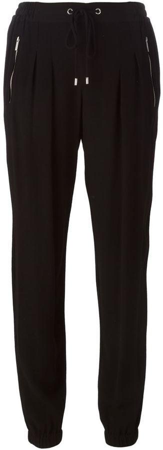 Pantalón de pinzas negro de MICHAEL Michael Kors