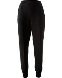 Pantalón de pinzas negro de Stella McCartney