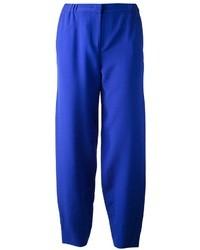 Pantalón de vestir azul de Fendi