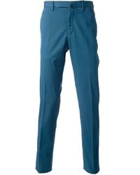 Pantalón de vestir azul de Incotex