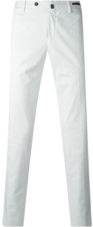Pt01 pantalones de vestir - Blanco farfetch