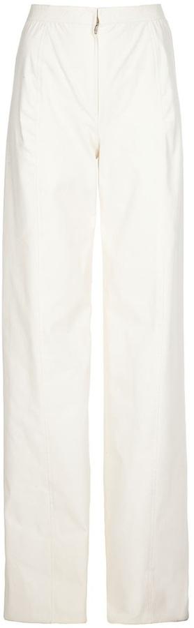 Pantalón de vestir blanco de Ungaro