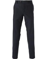 Pantalón de vestir de lana azul marino de Brunello Cucinelli