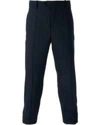 Pantalón de vestir de lana azul marino de Neil Barrett
