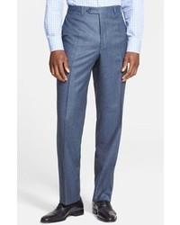Pantalón de vestir de lana azul