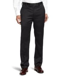 Pantalón de vestir de lana en gris oscuro de Louis Raphael