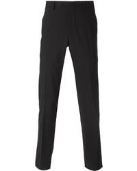 Pantalón de vestir de lana en gris oscuro de Pt01