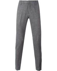 Pantalón de vestir de lana gris de Dondup