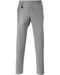 Pantalón de vestir de lana gris de Incotex