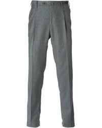 Pantalón de vestir de lana gris de Pt01