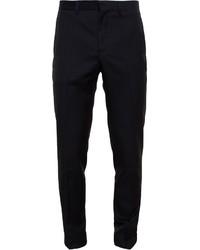 Pantalón de vestir de lana negro de Givenchy