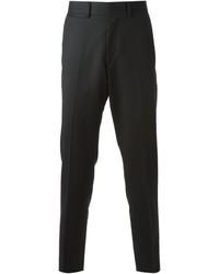 Pantalón de vestir de lana negro de McQ by Alexander McQueen