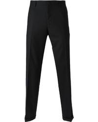 Pantalón de vestir de lana negro de Paul Smith