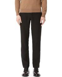 Pantalón de vestir de lino negro