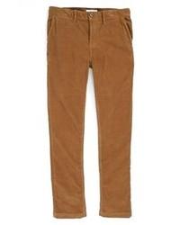 Pantalón de vestir de pana marrón