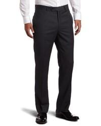 Pantalón de Vestir de Rayas Verticales Gris Oscuro de Tommy Hilfiger