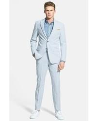 Pantalón de vestir de rayas verticales
