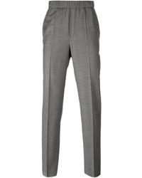 Pantalón de vestir de tartán gris de Neil Barrett