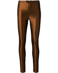 Pantalón de vestir dorado de Isabel Marant