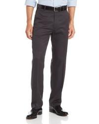 Pantalón de vestir en gris oscuro de Haggar