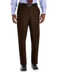 Pantalón de vestir en marrón oscuro