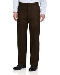 Pantalón de vestir en marrón oscuro de Ascott Browne