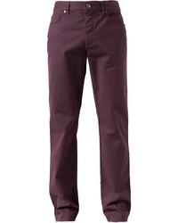 Pantalón de vestir morado de Ermenegildo Zegna